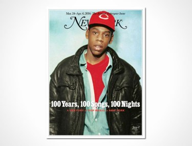 Jay Z'd New York Magazine 'Yesteryear' cover