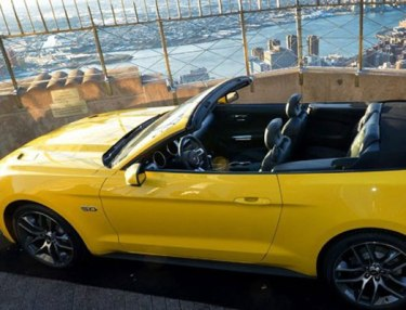 Ford Puts 2015 Mustang At Top Of Empire State Building