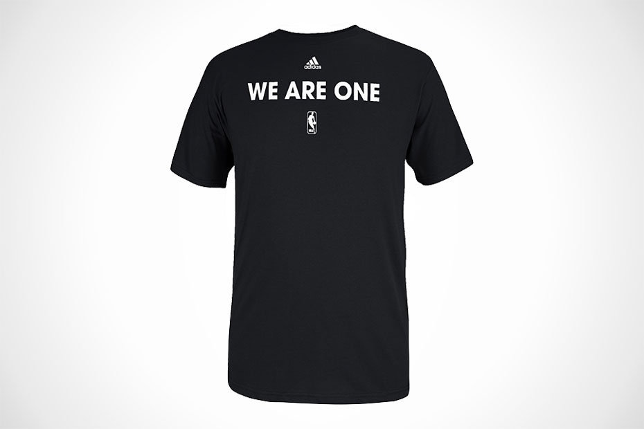 NBA x Adidas WE ARE ONE t-shirts