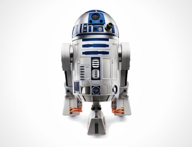 Voice-Activated R2-D2 by Hammacher Schlemer & Co.