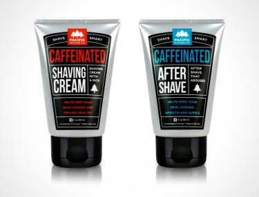 Pacific Shaving Company's Caffeinated Shaving Cream & Aftershave Set