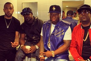 50 Cent and G-Unit at 2014 Summer Jam