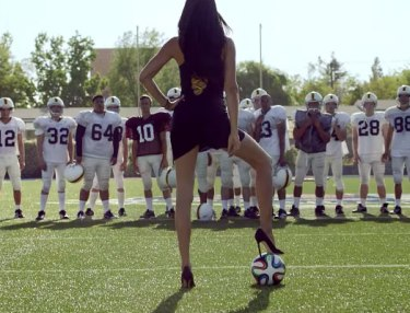 Kia - Football vs. Futbol (featuring Adriana Lima) Commercial