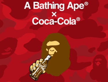 BAPE x Coca-Cola Capsule Collection Teaser