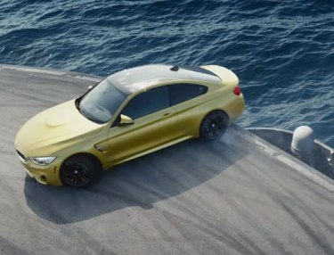 BMW Transforms Aircraft Carrier Into The Ultimate Racetrack