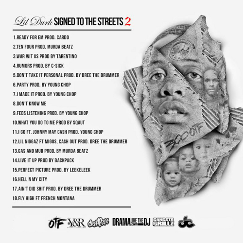 Lil Durk - Signed To The Streets 2 (Mixtape) - Back