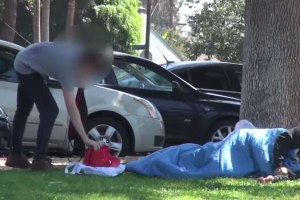 Would You Steal A Pair Of Air Yeezy's From A Homeless Man?