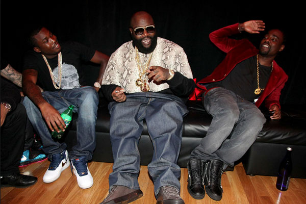 Meek Mill, Rick Ross and Wale