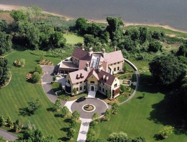 $12 million X-Shaped Long Island Mansion