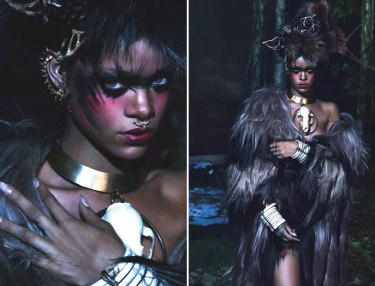 Rihanna - W Magazine - Fall Fashion 2014
