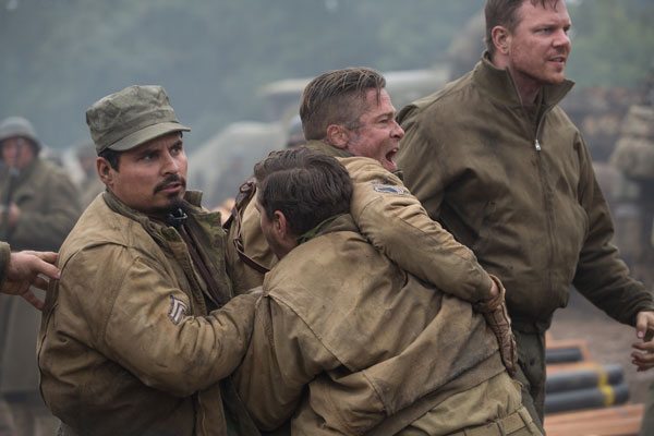 Michael Pena in Fury