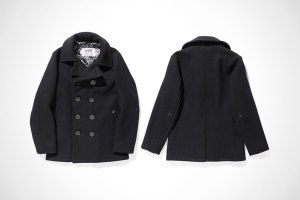 Stussy x Schott 2014 Fall Pea Coat