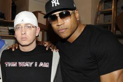 Eminem and LL Cool J