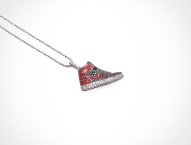 Air Jordan 1 Diamond Pendant By Mr. Flawless