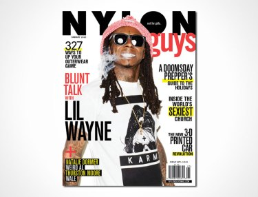 Lil Wayne - NYLON Guys' December 2014/January 2015