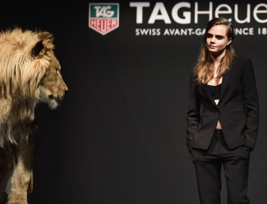 Cara Delevingne Tapped As TAG Heuer Ambassador