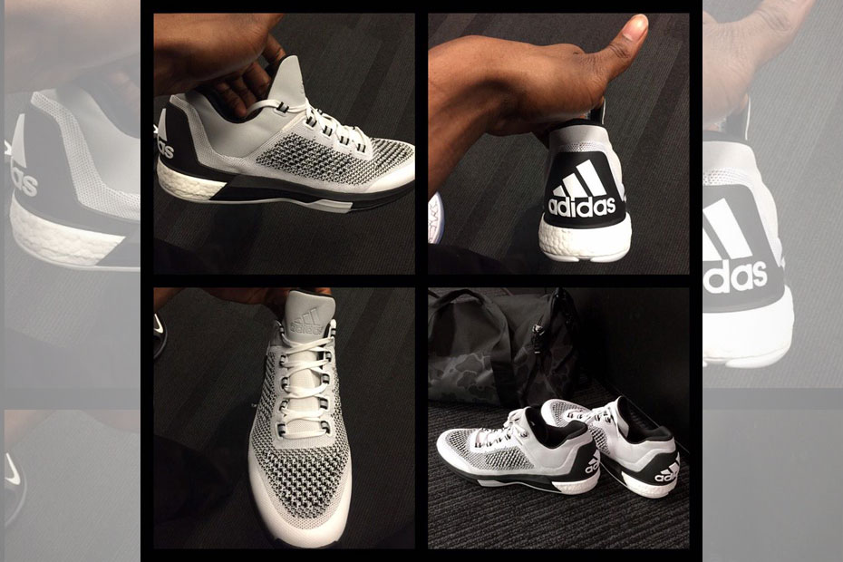 new style fba3f f6d9b Andrew Wiggins Debuted The Adidas Crazylight Boost 2015