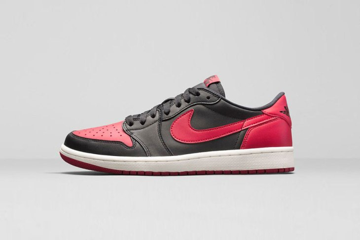 Air Jordan 1 Retro Low OG - Black/Varsity Red