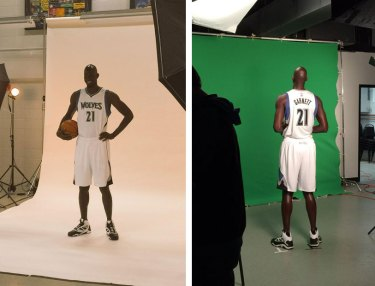 First Look At Kevin Garnett Back In His Timberwolves Uniform