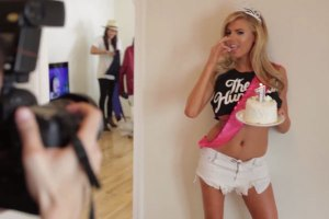 A Day In The Life Of Model Charlotte McKinney