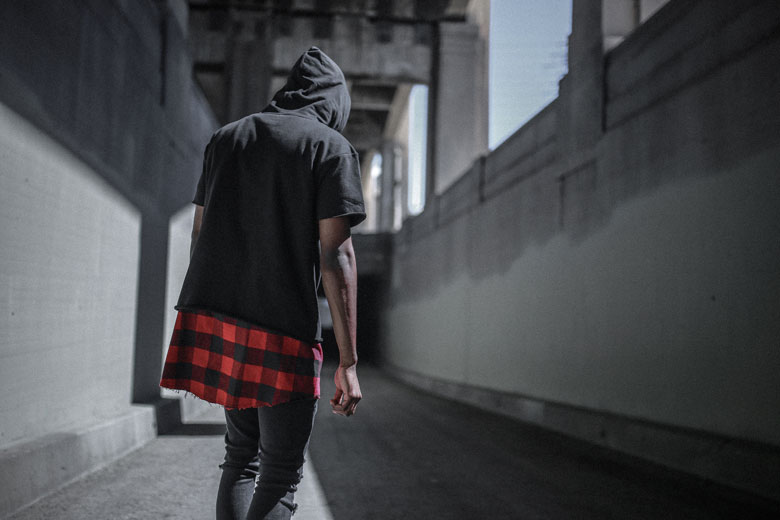 Layered Flannel S/S Pullover