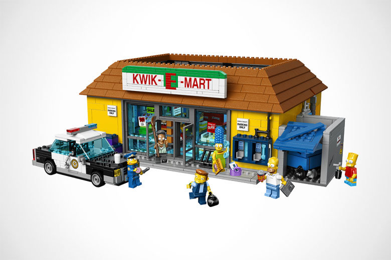LEGO x The Simpsons Kwik-E-Mart Set