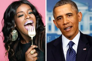 Azealia Banks and President Obama