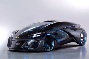 Chevrolet FNR: Self-Driving Electric Vehicle Concept