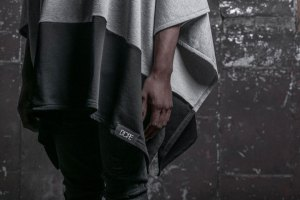DOPE R&D Collection: French Terry Hooded Poncho