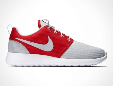 Nike Roshe One 'Wolf Grey/Gym Red'
