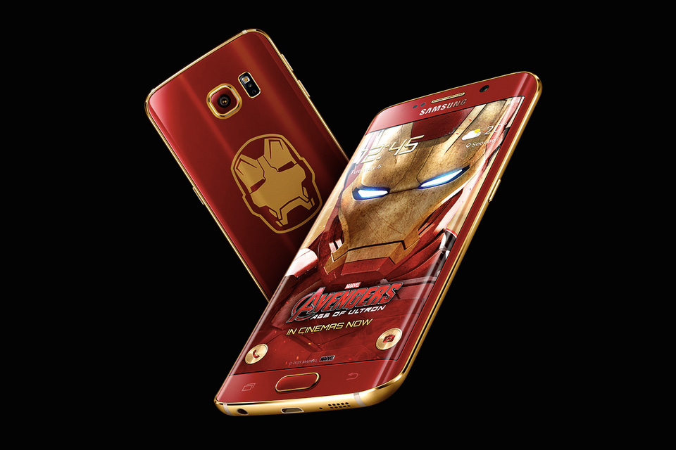 Samsung Galaxy S6 Edge 'Iron Man' Edition