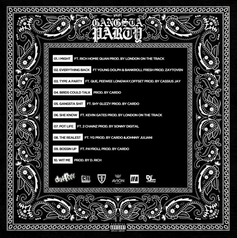 Jeezy - Gangsta Party (Mixtape) - Back