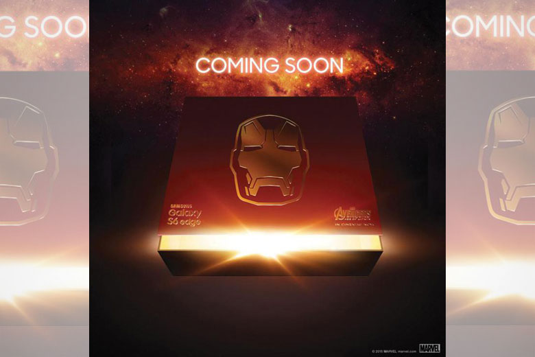 Samsung Teases Galaxy S6 Edge 'Iron Man' Edition
