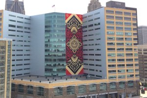 Shepard Fairey Unveils His Largest Mural Ever In Detroit