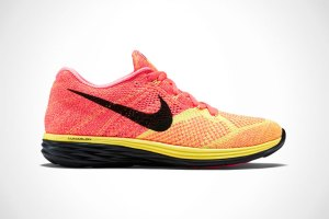 Nike Flyknit Lunar 3 - Hot Lava/Laser Orange