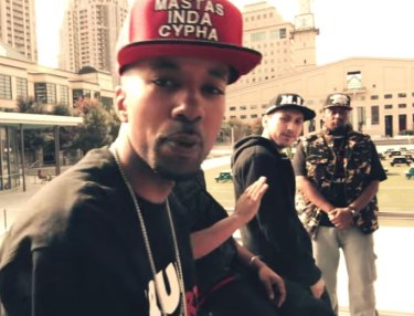 Mastas Inda Cypha ft. Ruste Juxx - Masta Ya High (Video)