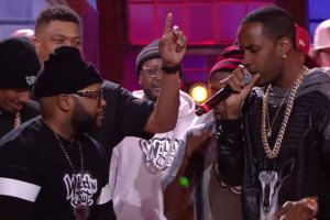 Safaree Gets Clowned Over Nicki Minaj/Meek Mill On Wild N Out