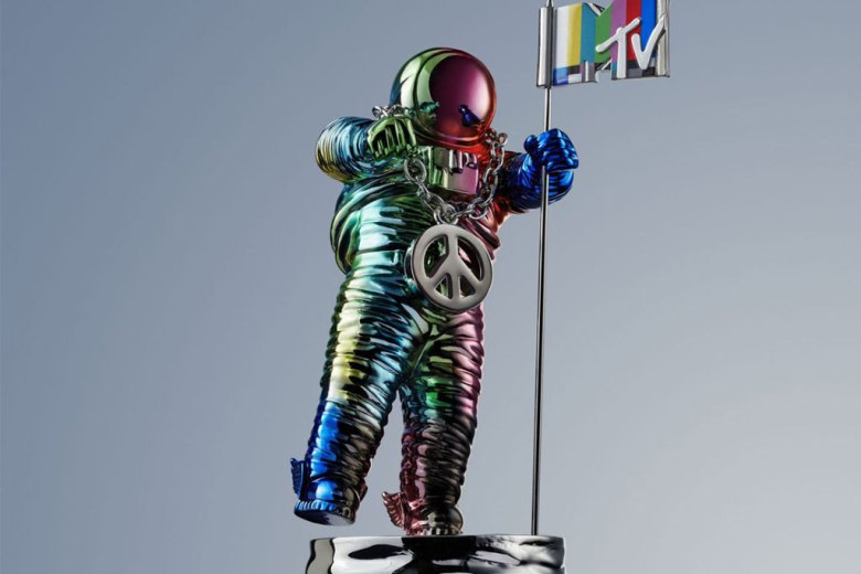 Here's The Redesigned MTV VMAs Moonman By Jeremy Scott
