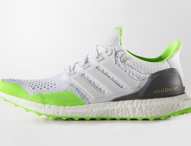 Kolor x Adidas Ultra Boost - White/Solar Green