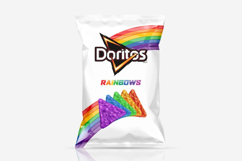 Doritos Drops Rainbow-Colored Chips In Support Of LGBT Community