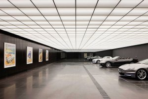 Wow! A Garage Inspired By The Dark Knight