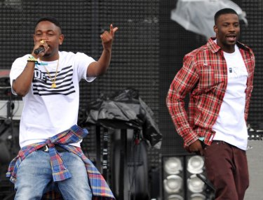 Jay Rock and Kendrick Lamar
