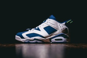 Remastered Air Jordan 6 Retro Low - Ghost Green