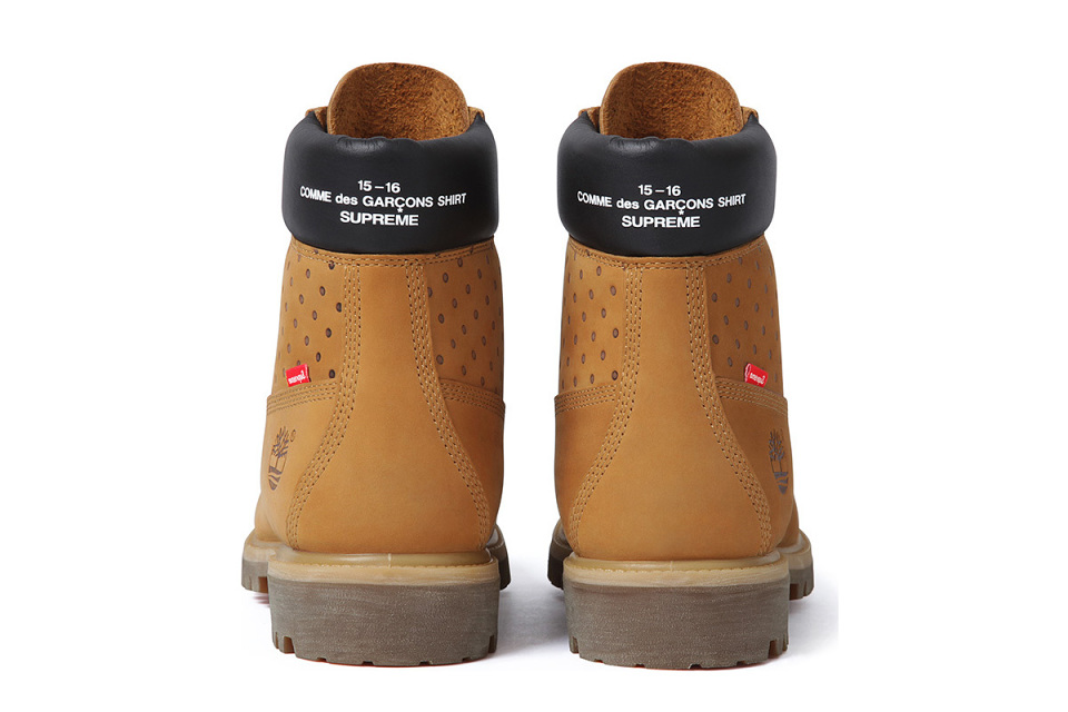Supreme x COMME des GARCONS Timberland 6-Inch Boot fbcd613b8