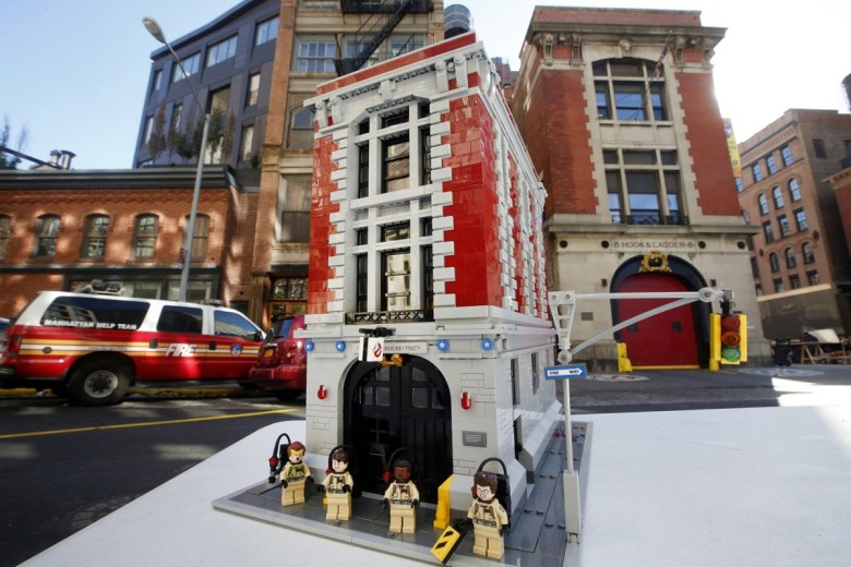 LEGO x Ghostbusters Firehouse Headquarters