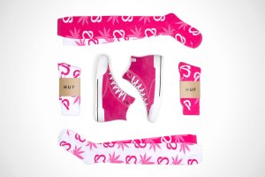 HUF Teams Up With Keep-A-Breast For Special Collection