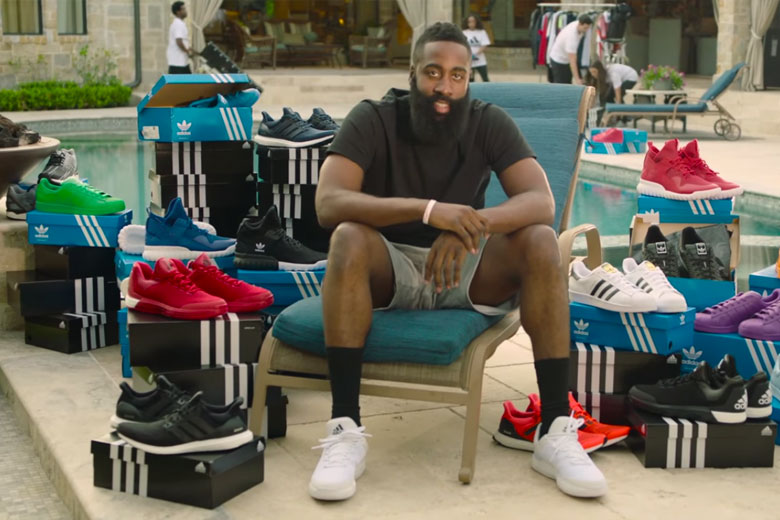 Adidas Officially Welcomes James Harden To The Family