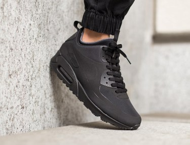 Nike Air Max 90 Mid Winter Black/Black