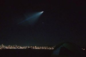 West Coast Residents Light Up Social Media With UFO Sighting