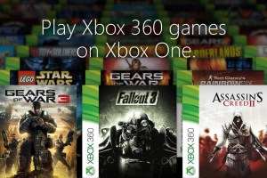 Xbox One Backward Compatible Games Unveiled